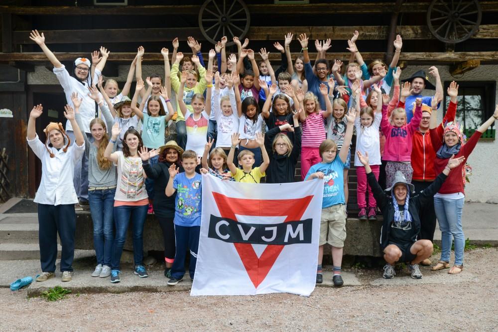 CVJM Kinderfreizeit auf dem Unterschembachhof
