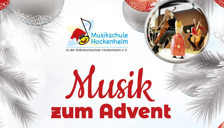 Online Adventskonzert der Musikschule Hockenheim
