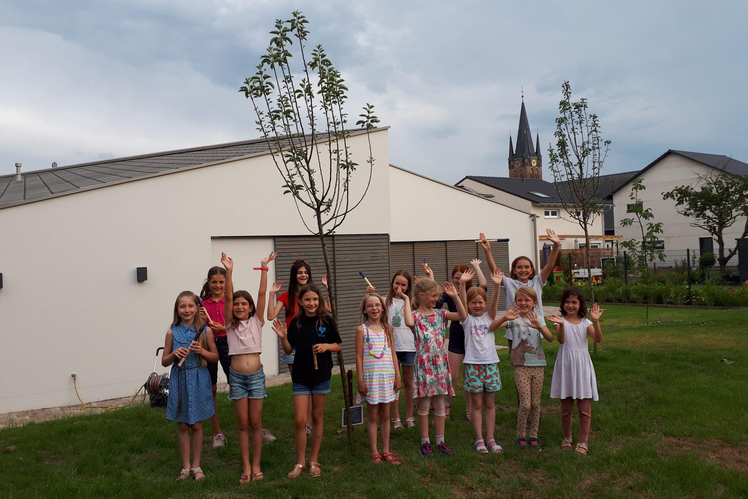 Read more about the article Ein Baum für unsere Flötenkreise