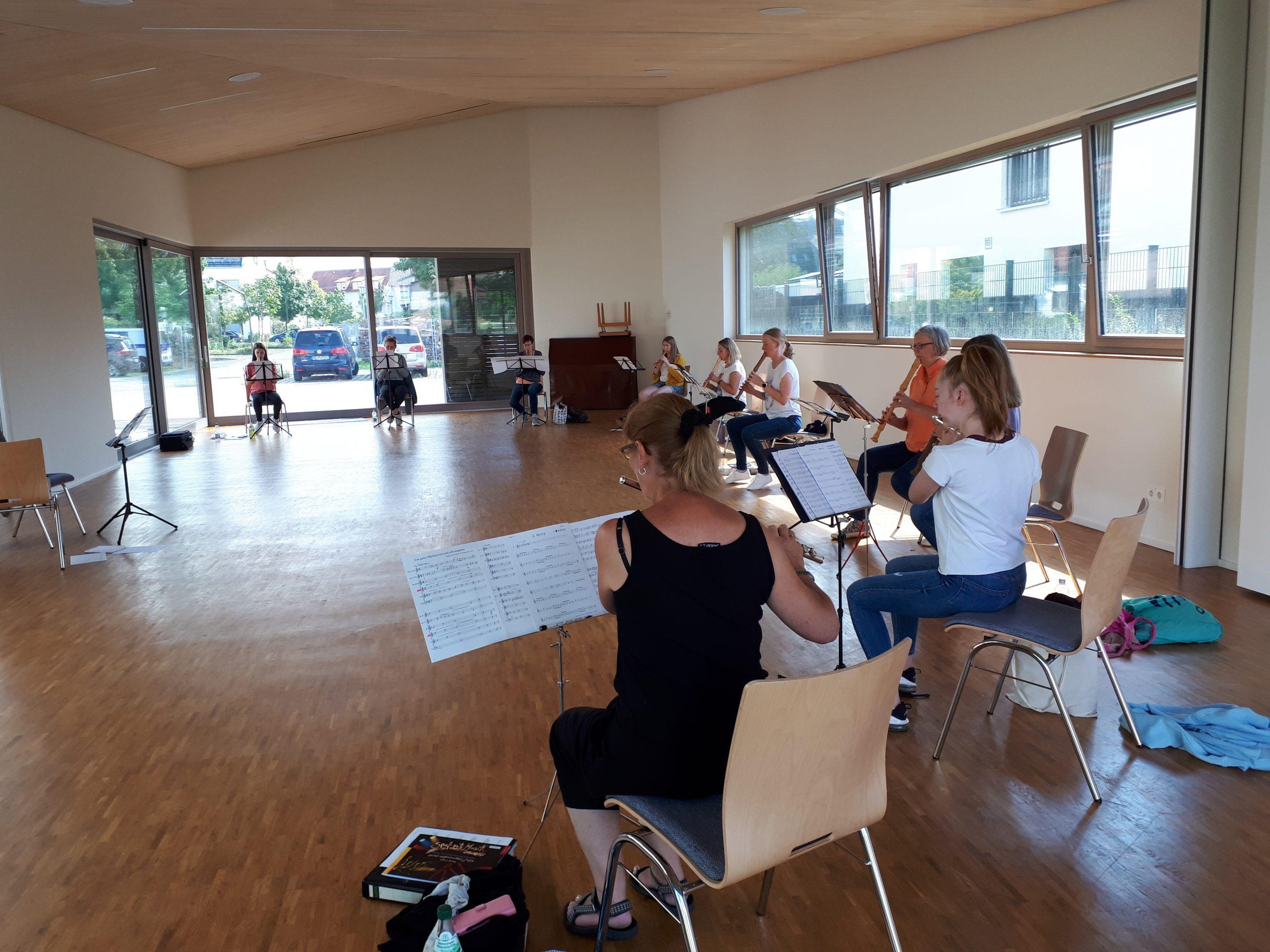 Read more about the article Probentag des CVJM-Flötenensembles